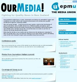 EPMU website - 2007
